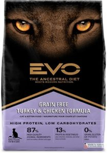 EVO Turkey and Chicken Meal Formula Dry dog food