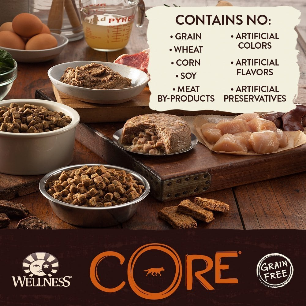 Wellness Core Natural Grain Free Dry Dog Food At Dogmal Com