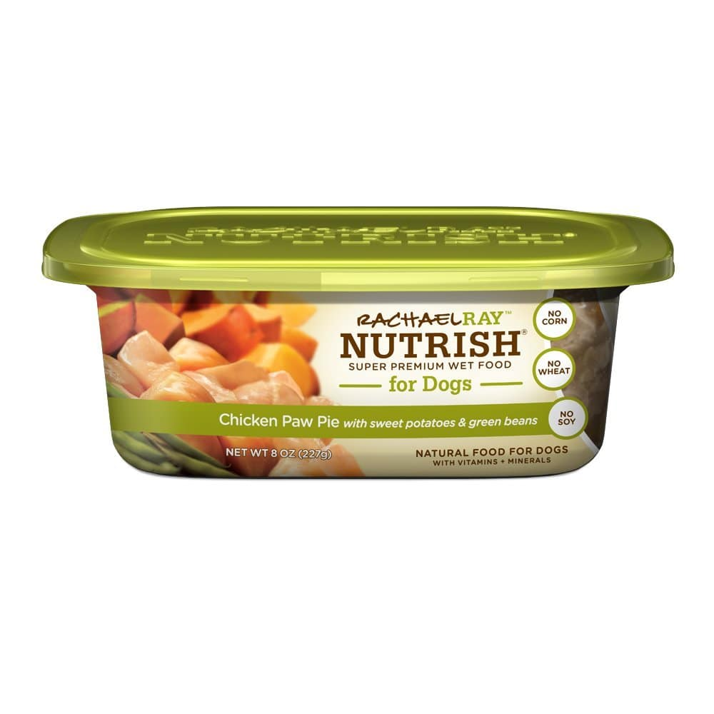 Rachael Ray Nutrish Natural Wet Dog Food, 8oz Tub (Pack of 8)