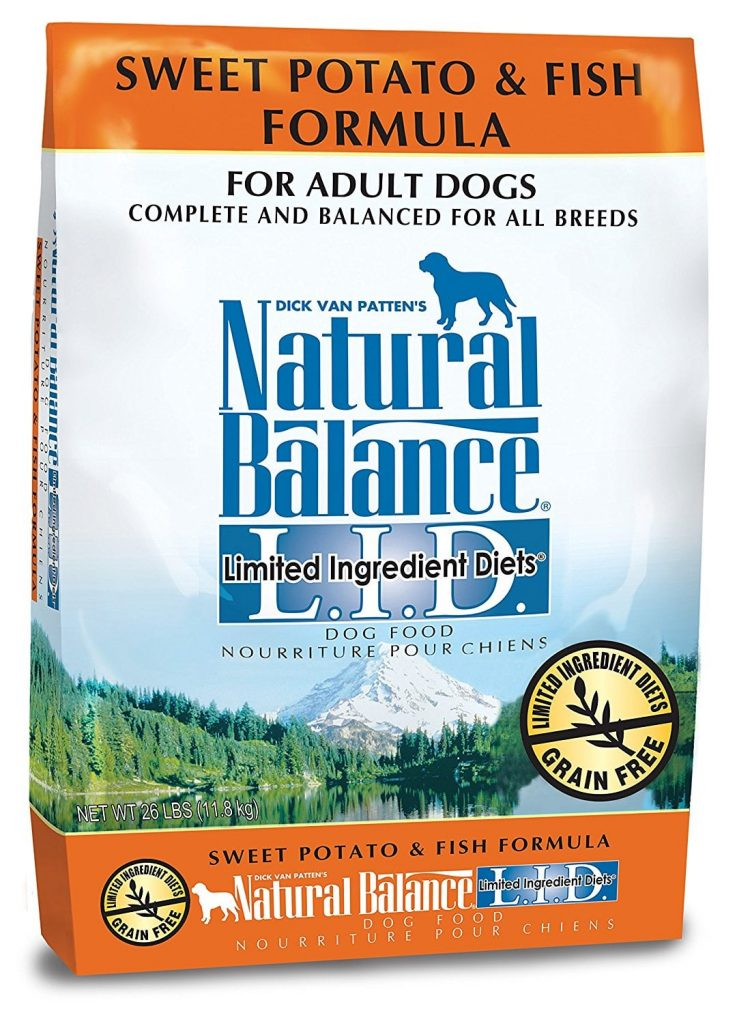 Natural Balance L.I.D. Limited Ingredient Diets Dry Dog Food – Sweet Potato & Fish Formula