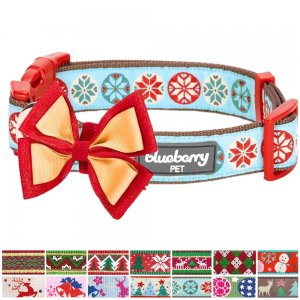 Blueberry-Pet-14-Patterns-Christmas-Holiday-Season-Dog-Collar