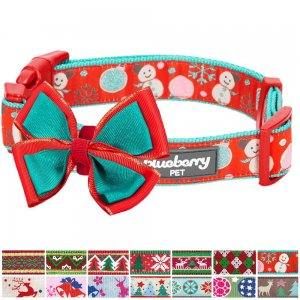Blueberry-Pet-14-Patterns-Christmas-Holiday-Season-Dog-Collars