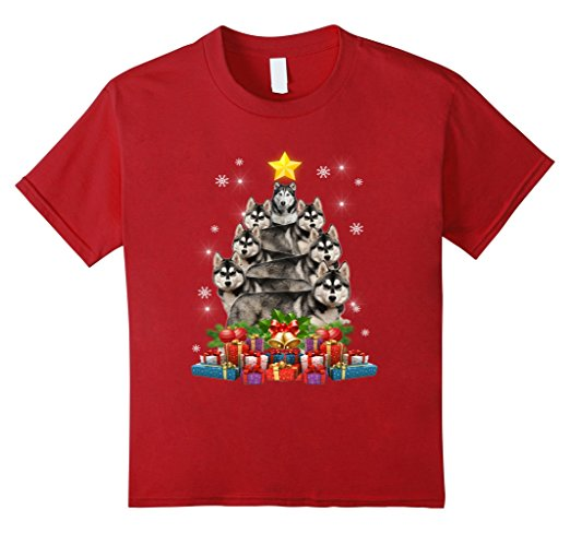 Christmas T-Shirt Funny Cute Dog