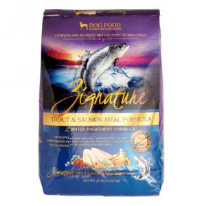 Zignature Grain-Free Trout Dry Dog Food