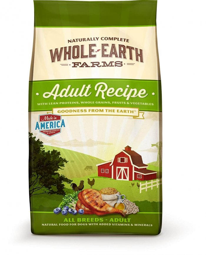 Whole Earth Foods Dog Food Review