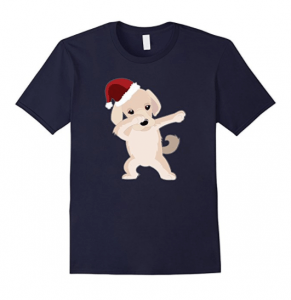 Cute-Labrador-Retriever-Dabbing-Christmas-Shirt