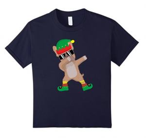 Dabbing-French-Bulldog-Elf-Christmas-T-Shirt