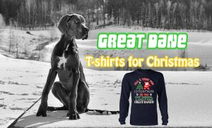 Great Dane T-shirts for Christmas