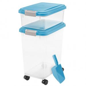 IRIS 3 Piece Airtight Pet Food Container Combo