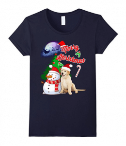Labrador-Retriever-Christmas-T-Shirt