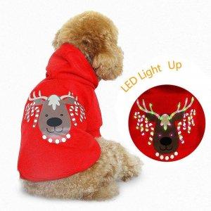 Light up Dog Shirt Costume