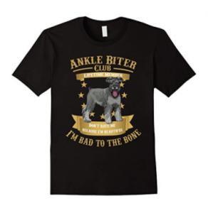 Miniature-Schnauzer-I-m-Bad-to-the-Bone-Shirts
