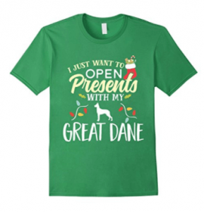 Open-Presents-With-My-Great-Dane-Christmas-Dog-T-Shirt