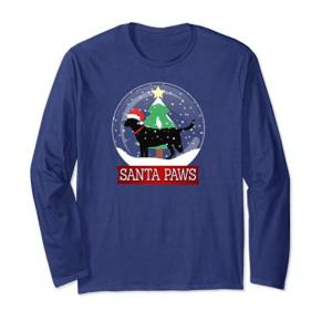 Santa-Paws-Snow-Globe-Christmas-Tee