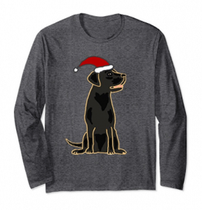 SmileLSXMAS-Cute-Black-Labrador-Retriever-Christmas-Shirt