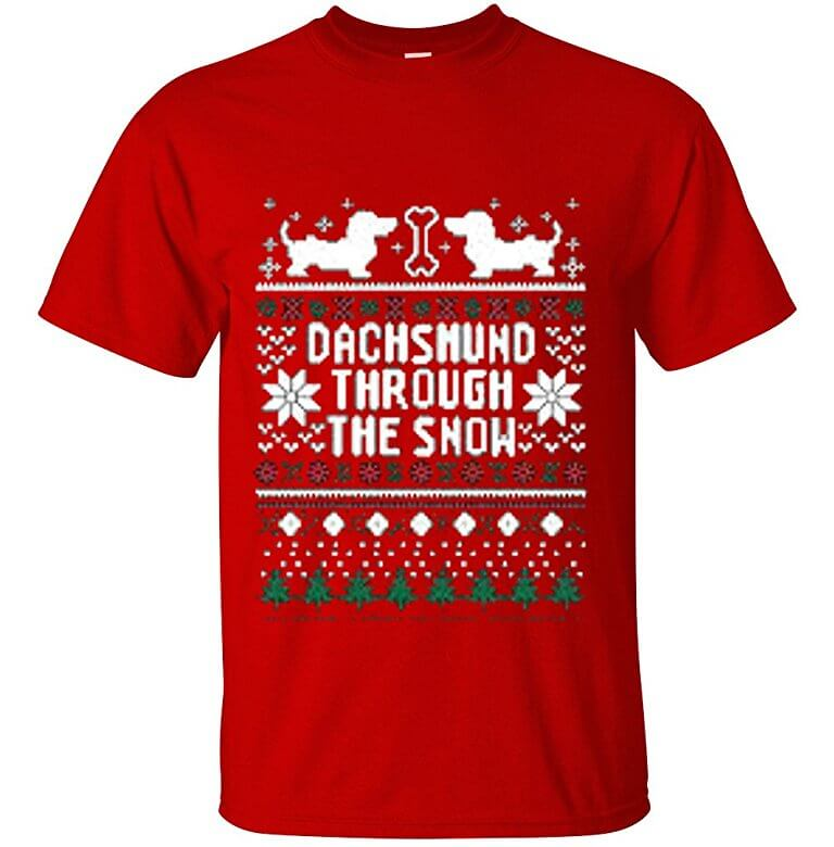 YM Wear Adult Dachshund t shirt