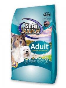 NutriSource Adult Chicken & Rice Formula Dry Dog Food